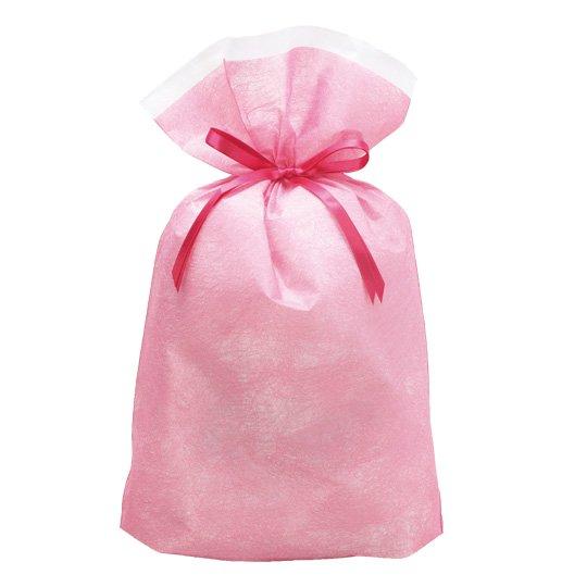 【巾着袋】シンテックス巾着BAG ピンク L