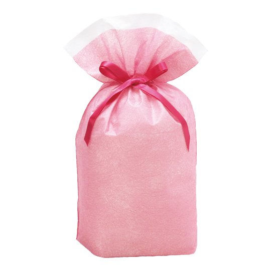 シンテックス巾着BAG ピンク M