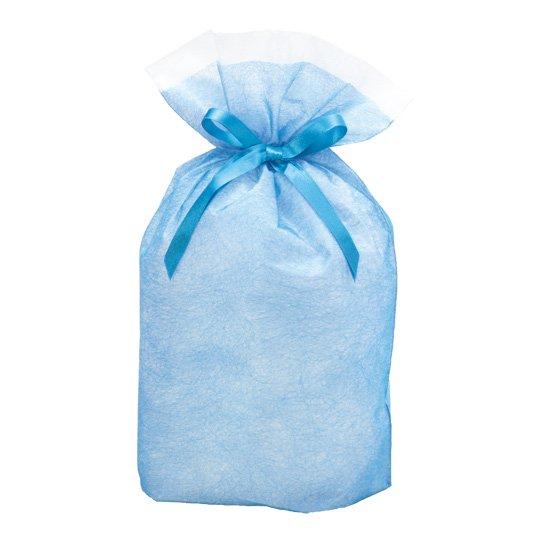 シンテックス巾着BAG ブルー M