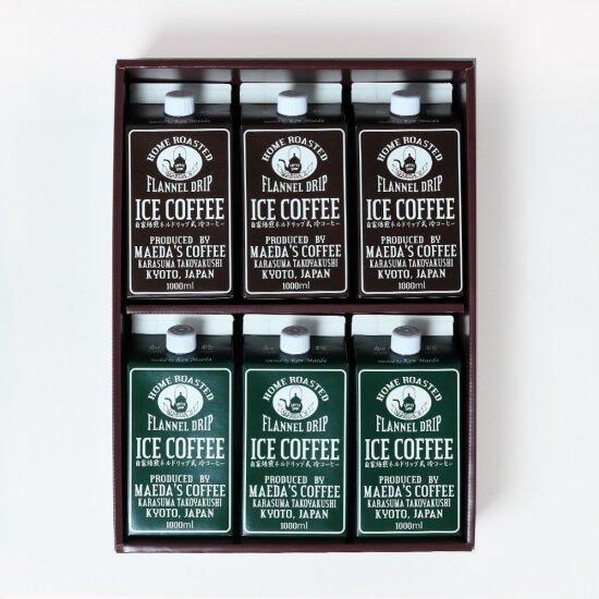 ギフト対応可能 選べる無糖・加糖 アイスコーヒー1L 6本セット