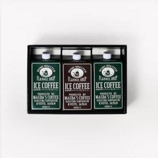 【ギフト対応可・シール付き 選べる無糖・加糖】  アイスコーヒー1L 3本セット