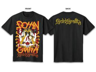 ROTTENGRAFFTY GOLD T-Shirt 【RO1048BK】