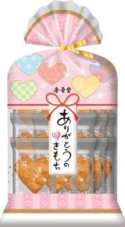 金吾堂製菓 <br>ありがとうのきもち15枚入<br>10袋以上お買上で袋付