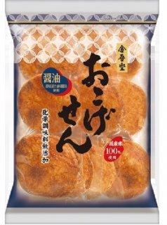 金吾堂製菓 <br>10枚おこげせん-醤油