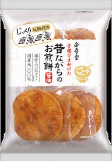 金吾堂製菓 <br>昔ながらのお煎餅 6枚入
