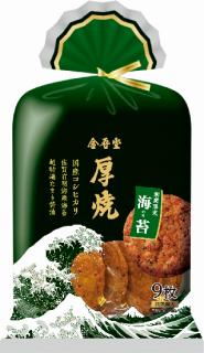 金吾堂製菓<br> 厚焼コシヒカリ有明海苔
