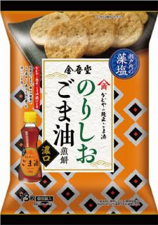 金吾堂製菓 <br>濃口ごま油のりしお風味