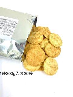 【数量限定 お買得!】金吾堂製菓 <br>濃口ごま油のり塩風味こわれ<br>26袋入(1袋200g)