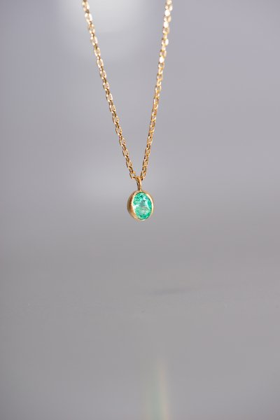 NR26 / Emerald Necklace