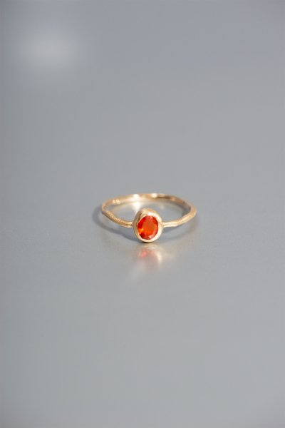 NR7 / Mexican Fire Opal RIng