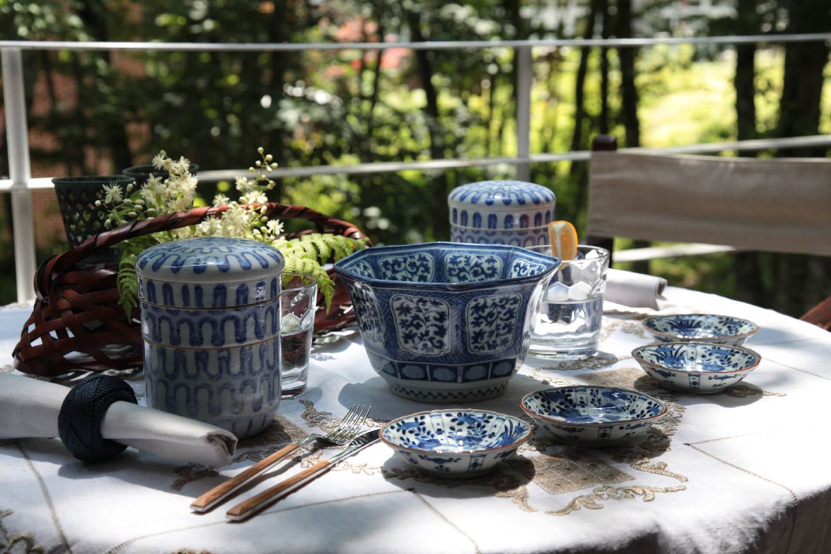 陶磁器/染付 Ceramic/Blue & White