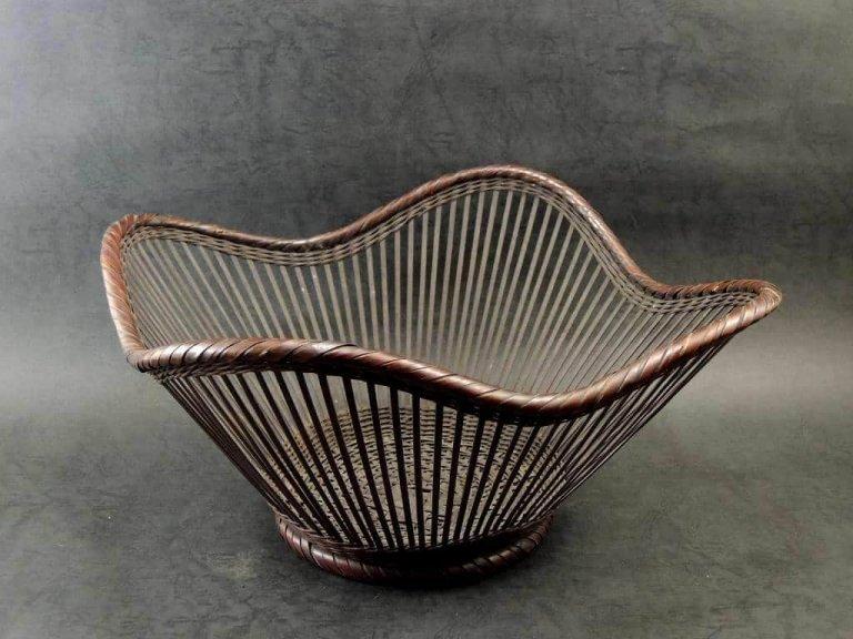 竹花籠 / Bamboo Ikebana Basket
