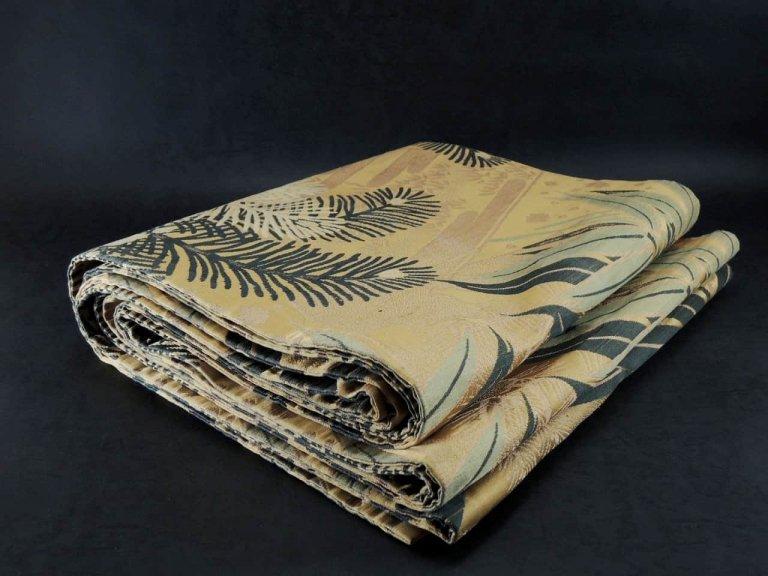 丸帯 / Obi with the pattern of Bamboo leaves and Pine