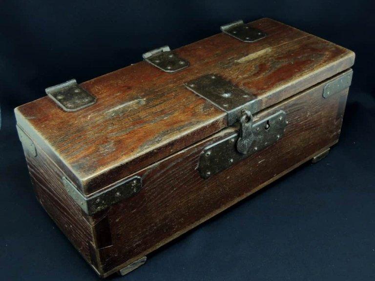 銭箱 / Wooden Money Box
