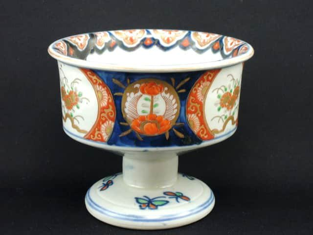 伊万里色絵金魚文盃洗 / Imari Polychrome 'Haisen' with the picture of Gold fishes
