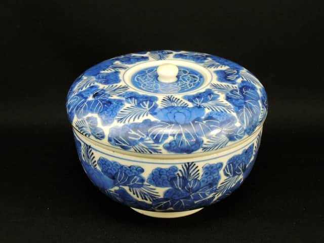 伊万里染付小蓋物 / Imari Blue & White Food Box