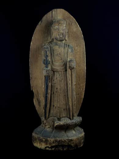 木彫仏 / Wooden Statue of Buddha