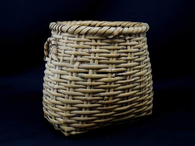 竹花籠 小 / Small Bamboo Flower Basket