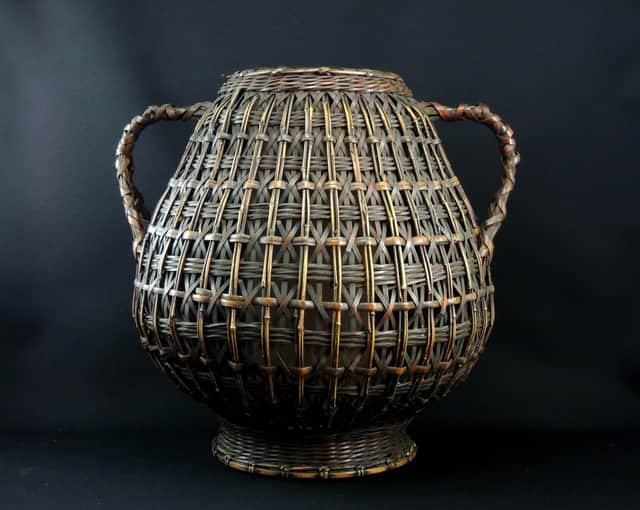 竹花籠 / Bamboo Hanging Ikebana Basket