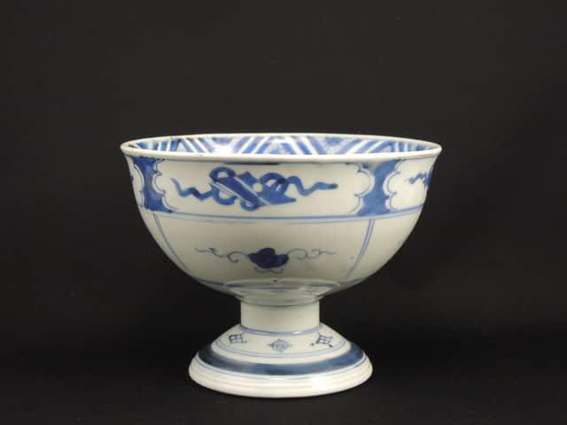 伊万里染付鶴文盃洗 / Imari Blue & White 'Haisen' Bowl with the picture of Cranes