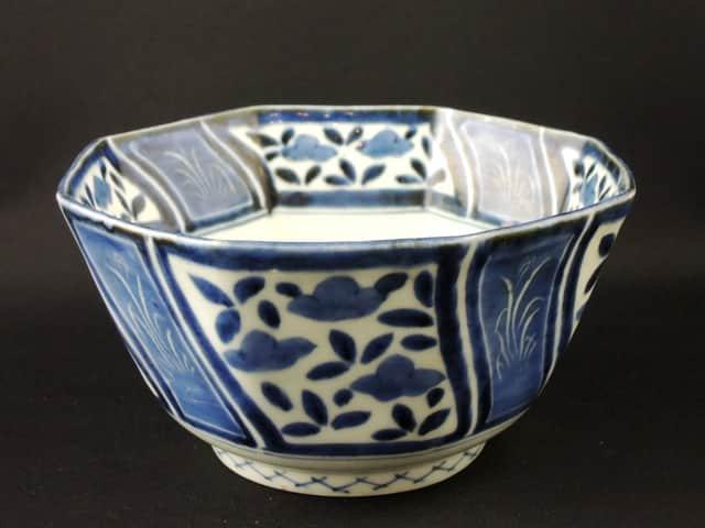 伊万里染付八角鉢 / Imari Blue & White Octagonal Bowl