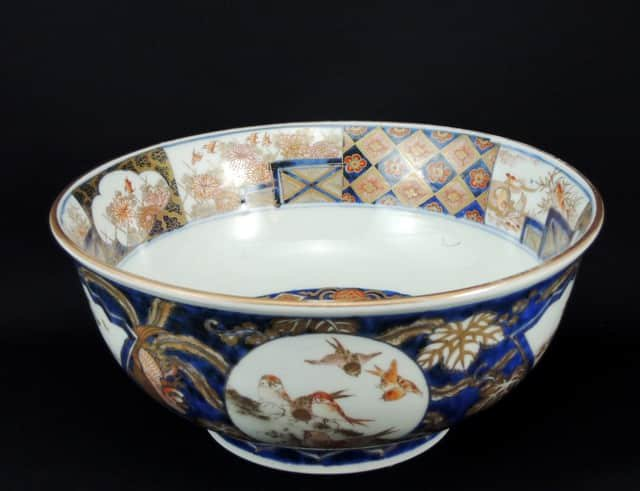 伊万里色絵大鉢 / Imari Large Polychrome Bowl