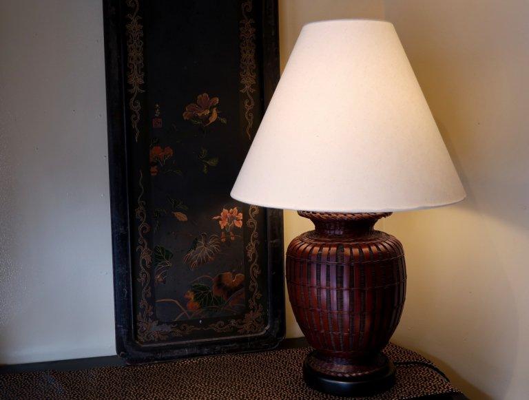 花籠シェードランプ / 'Hanakago'(Flower basket) Lamp