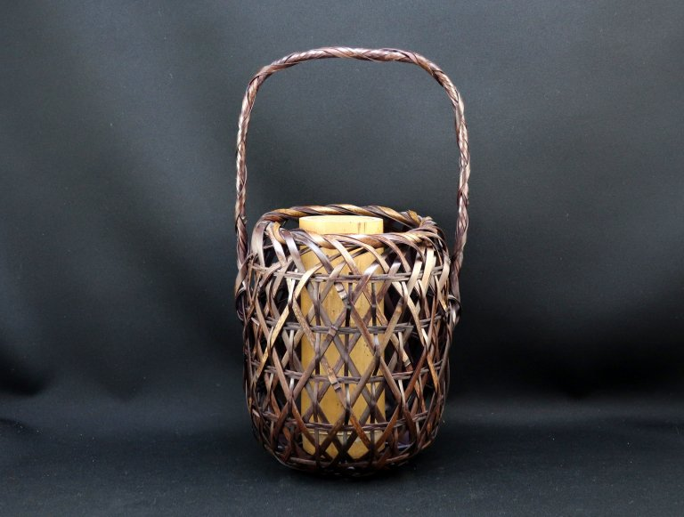 竹花籠 小 / Small Bamboo Basket