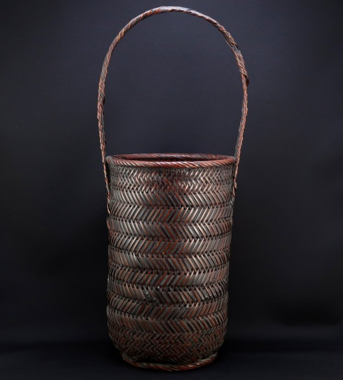 竹花籠 / Bamboo Flower Basket