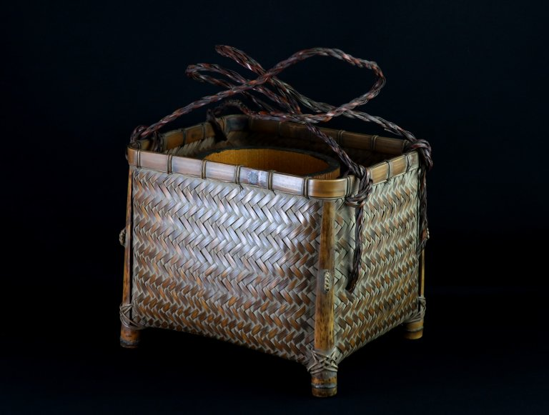 竹花籠 / Bamboo Flower Basket
