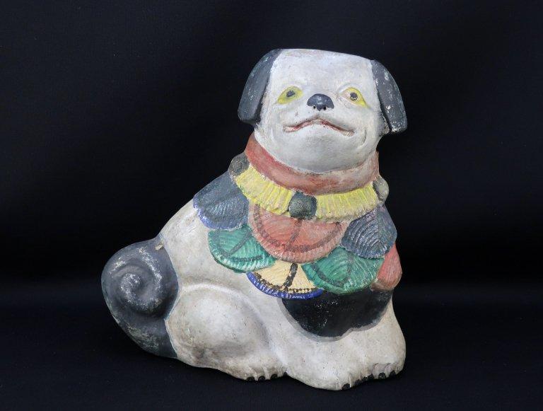 土人形 犬 / Clay Dog