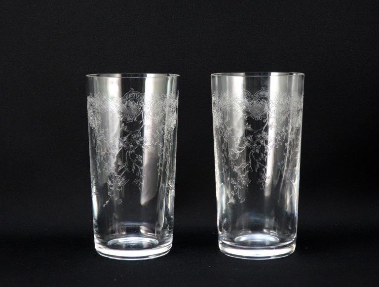 サンルイ クレオ クリスタルタンブラー グラス 2客組