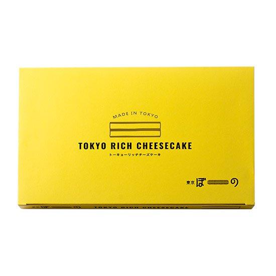 東京ぼーの トーキョーリッチチーズケーキ(6本入り)