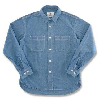 BACKDROP バックドロップ【SOUTH WEST】サウスウェスト シャンブレーシャツ