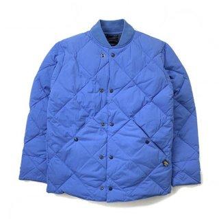 Comfy Outdoor Garment コンフィーアウトドアガーメント COMFY DOWN ダイヤモンドキルティング ダウンジャケット ブルー