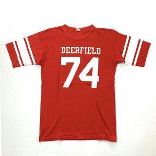 60's Champion チャンピオン フットボールTシャツ   74 プロダクツタグ