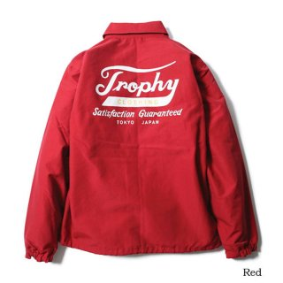TROPHY CLOTHING トロフィークロージング Classic Logo Warm Jacket RED