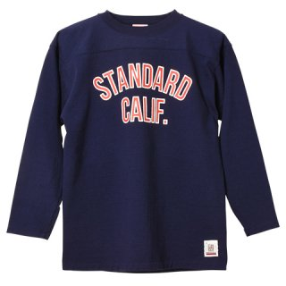 STANDARD CALIFORNIA スタンダードカリフォルニア SD Heavyweight Football Long Sleeve NAVY