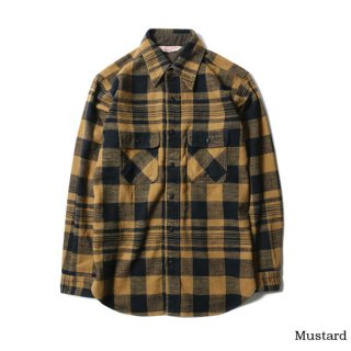 TROPHY CLOTHING トロフィークロージング Buffalo L/S Shirt MUSTARD