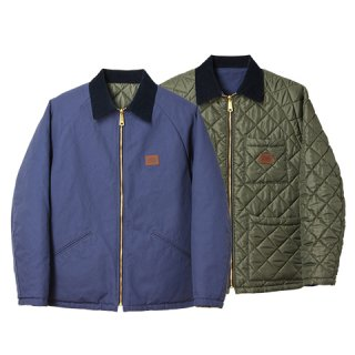 STANDARD CALIFORNIA スタンダードカリフォルニア SD Reversible Duck Work Jacket Blue / Olive