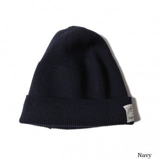 TROPHY CLOTHING トロフィークロージング Wool Watchman Cap NAVY