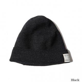 TROPHY CLOTHING トロフィークロージング Wool Watchman Cap BLACK