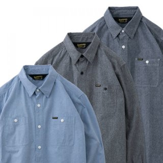 <img class='new_mark_img1' src='https://img.shop-pro.jp/img/new/icons1.gif' style='border:none;display:inline;margin:0px;padding:0px;width:auto;' />BLUCO ブルコ   CHAMBRAY SHIRTS