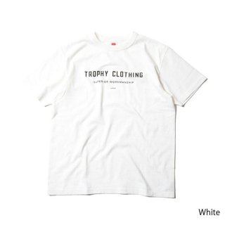 TROPHY CLOTHING トロフィークロージング Japan Logo LW Tee  WHITE