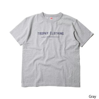 TROPHY CLOTHING トロフィークロージング Japan Logo LW Tee  Gray