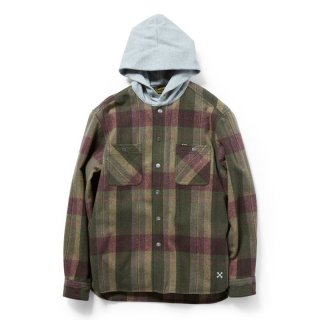 <img class='new_mark_img1' src='https://img.shop-pro.jp/img/new/icons5.gif' style='border:none;display:inline;margin:0px;padding:0px;width:auto;' />BLUCO HOOD NEL SHIRTS 【OL-049-020】