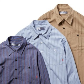 <img class='new_mark_img1' src='https://img.shop-pro.jp/img/new/icons5.gif' style='border:none;display:inline;margin:0px;padding:0px;width:auto;' />BLUCO STD WORK SHIRTS L/S
