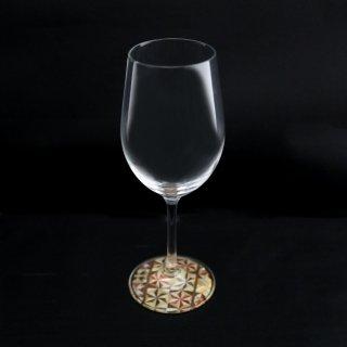 ミュゼグラス 寄木細工[Aタイプ](ワイングラス)