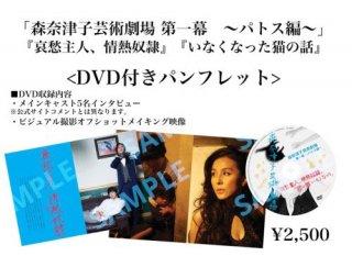 「森奈津子芸術劇場」パンフレット(DVD付)