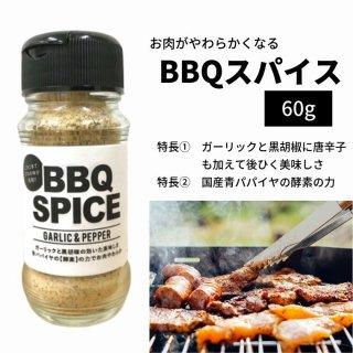 BBQスパイス 60g 肉が柔らかくなる 肉専用 シーズニング バーベキュー 万能調味料